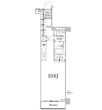 グレイスコート白金302号室