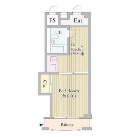 パークグレース新宿1202号室
