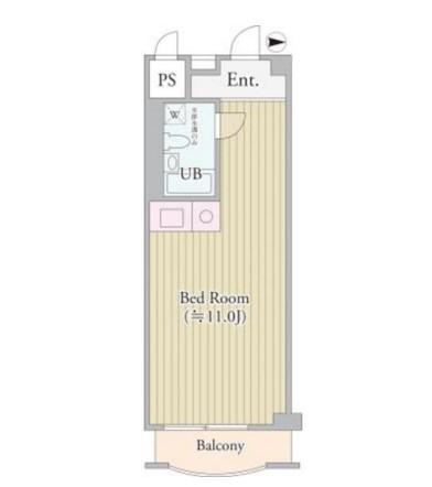 パークグレース新宿402号室
