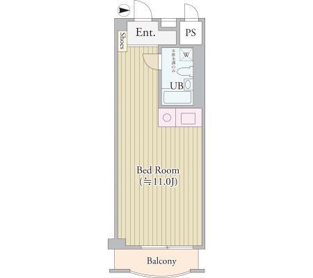 パークグレース新宿413号室