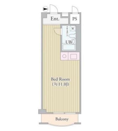 パークグレース新宿515号室