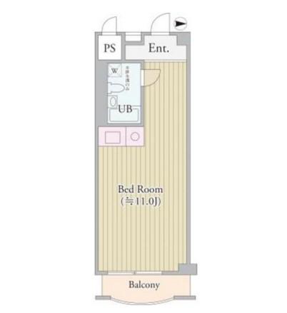 パークグレース新宿604号室