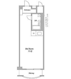 パークグレース新宿707号室