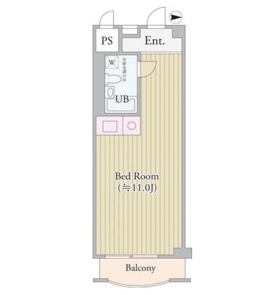 パークグレース新宿714号室