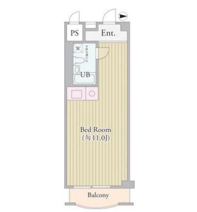 パークグレース新宿802号室