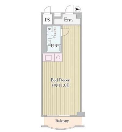 パークグレース新宿810号室