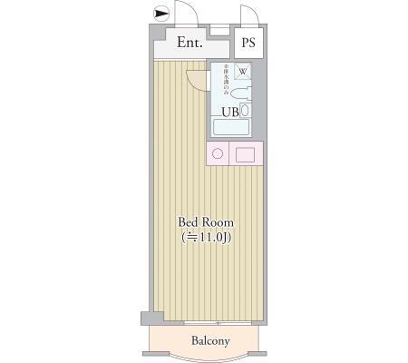パークグレース新宿907号室