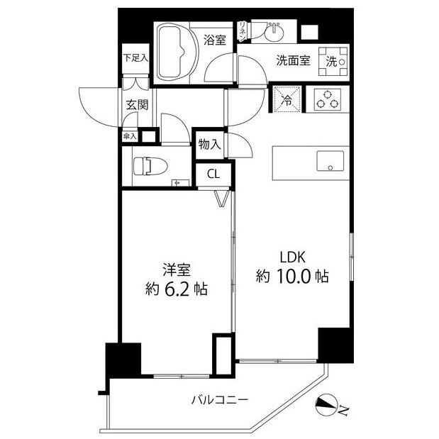 麻布十番レジデンス301号室
