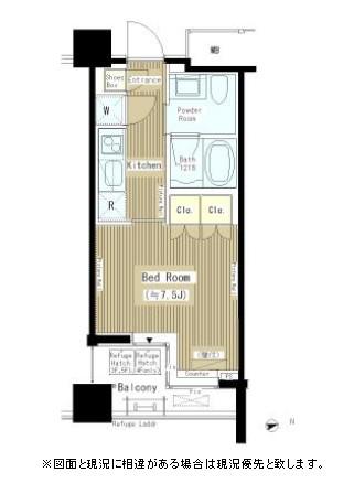 六本木エムケイアートレジデンス303号室