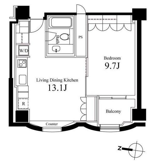 ハンドレッドステイレジデンス1202号室