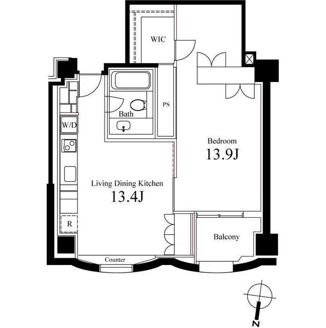 ハンドレッドステイレジデンス1204号室