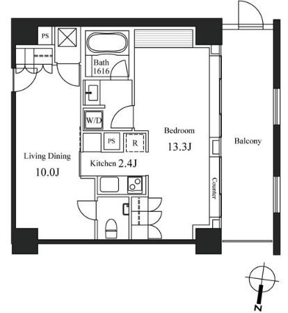 ハンドレッドステイレジデンス301号室