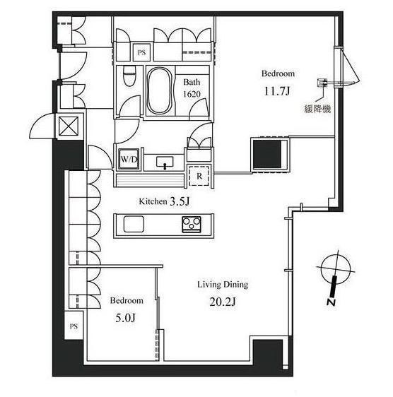 ハンドレッドステイレジデンス402号室