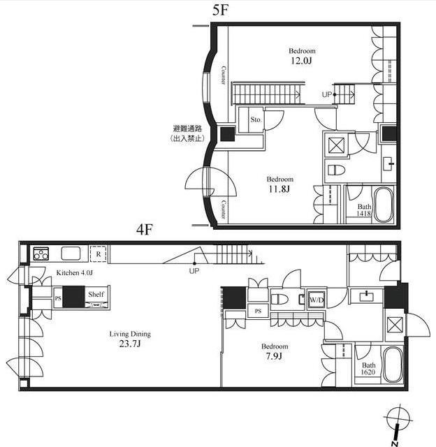 ハンドレッドステイレジデンス406号室