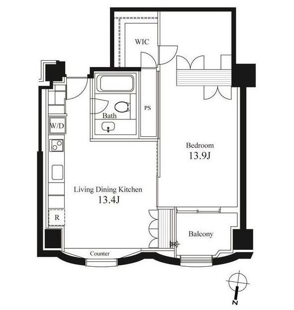 ハンドレッドステイレジデンス704号室