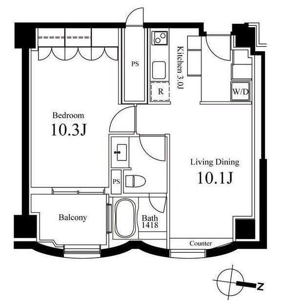 ハンドレッドステイレジデンス705号室