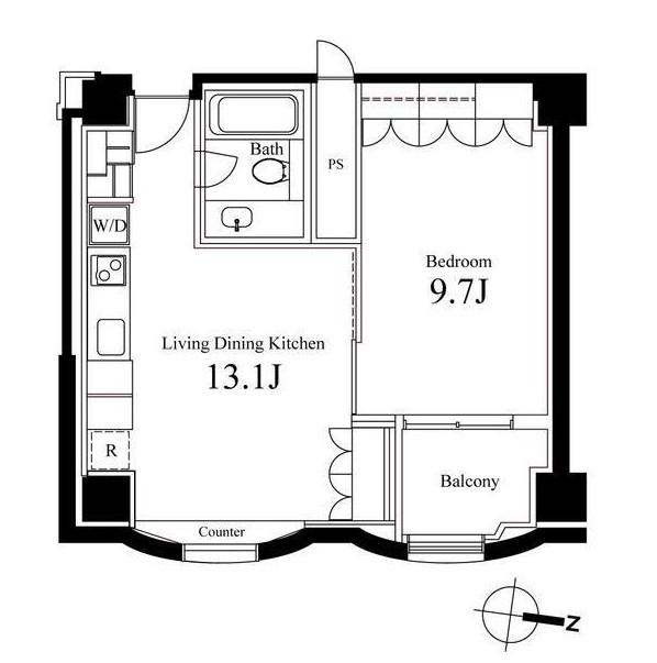 ハンドレッドステイレジデンス706号室