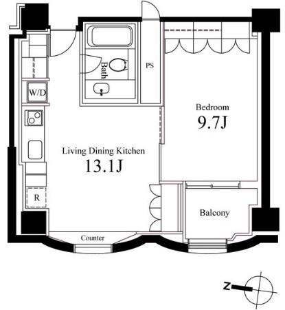ハンドレッドステイレジデンス802号室