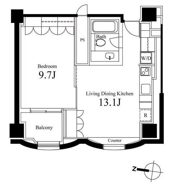 ハンドレッドステイレジデンス901号室