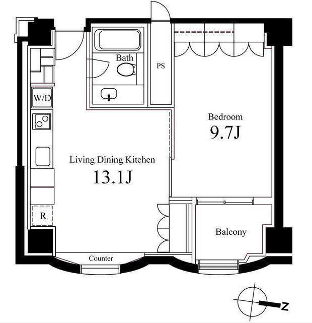 ハンドレッドステイレジデンス906号室