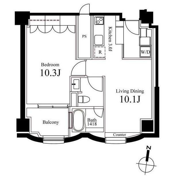 ハンドレッドステイレジデンス907号室