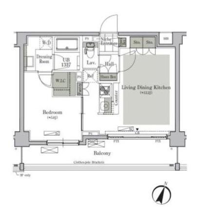 パークキューブ西ヶ原ステージ308号室
