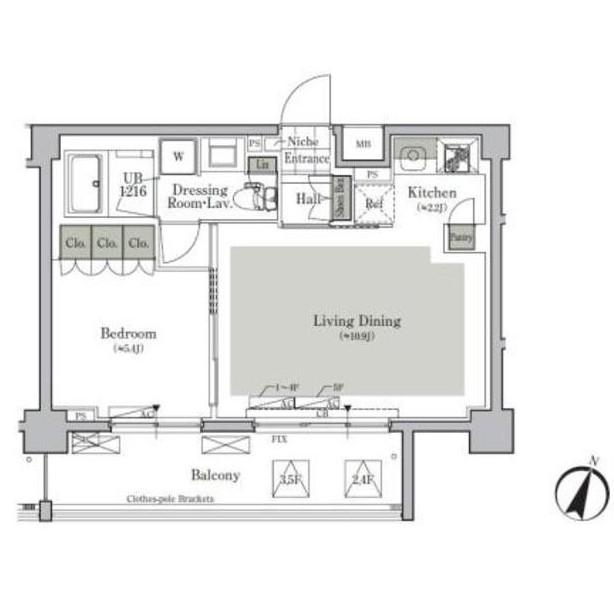 パークキューブ西ヶ原ステージ422号室