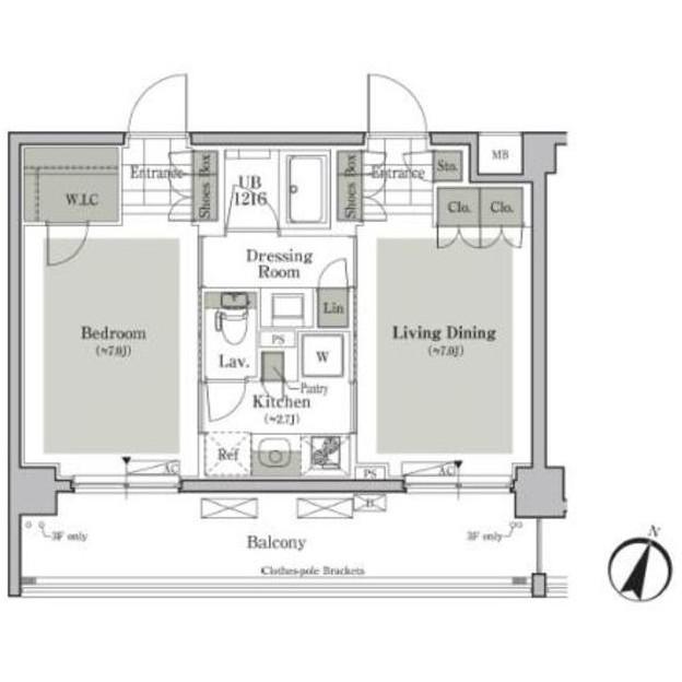 パークキューブ西ヶ原ステージ517号室