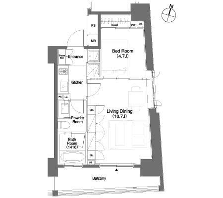 パークキューブ笹塚507号室