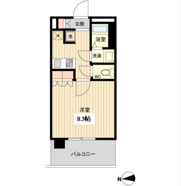 ラクアスレジデンス東新宿801号室
