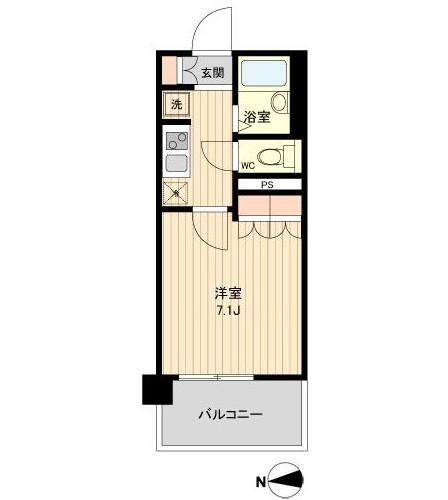 ラクアスレジデンス東新宿805号室