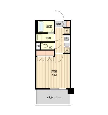ラクアスレジデンス東新宿910号室