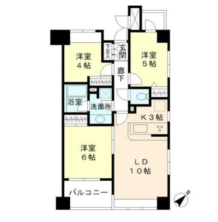エーデルブルク308号室