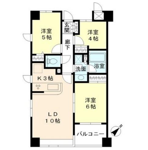 エーデルブルク405号室