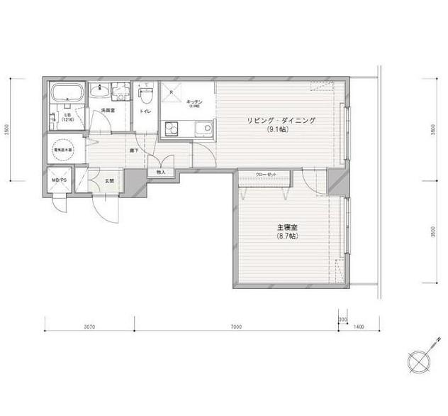 NBF芝公園ビル インターレジデンス1205号室