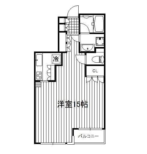 THEパームス代々木203号室