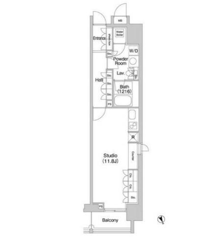 コンフォリア北参道1110号室