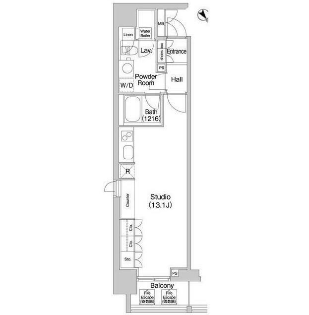 コンフォリア北参道1112号室