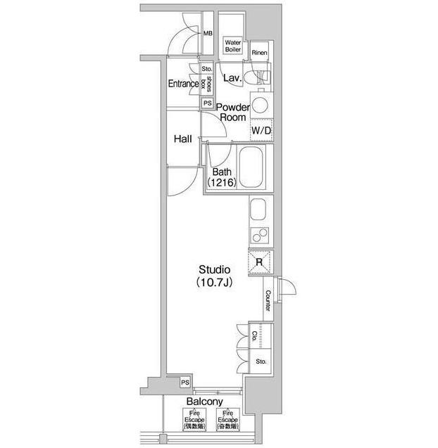 コンフォリア北参道1201号室