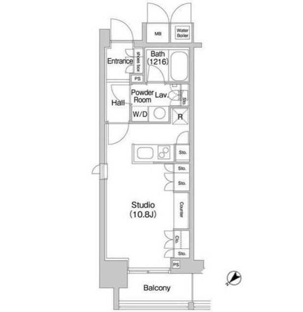 コンフォリア北参道1309号室