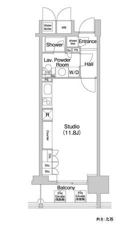 コンフォリア北参道1407号室