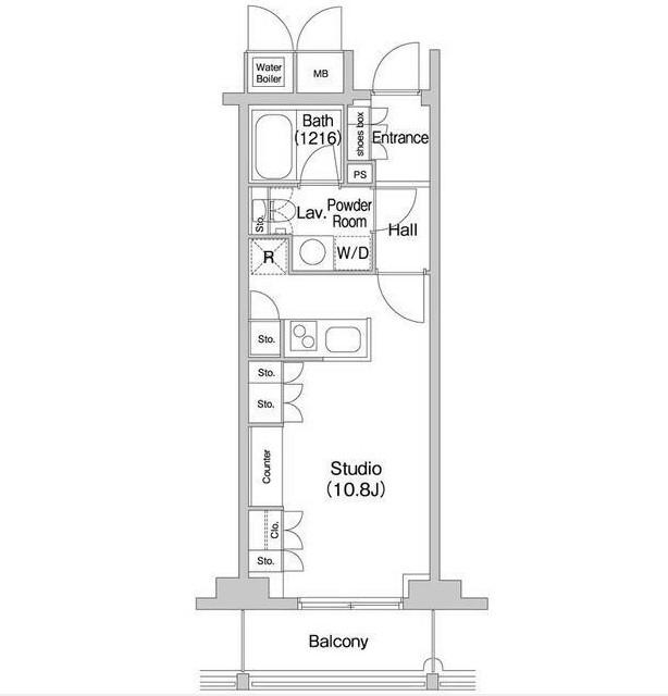 コンフォリア北参道1408号室