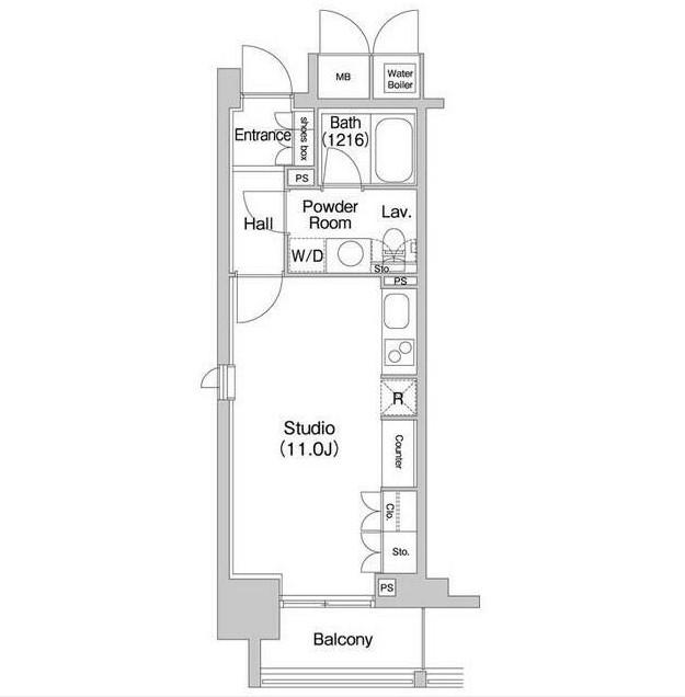 コンフォリア北参道409号室