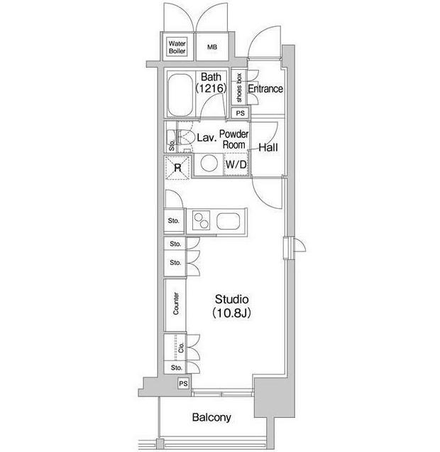コンフォリア北参道604号室