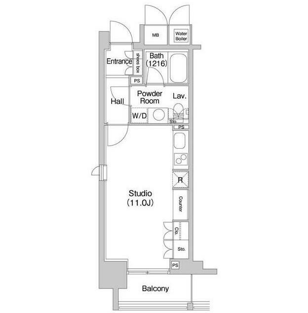 コンフォリア北参道709号室