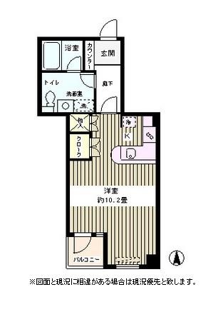 ハウスリンデ303号室