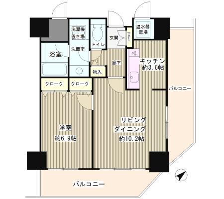 トレステージ目黒1101号室