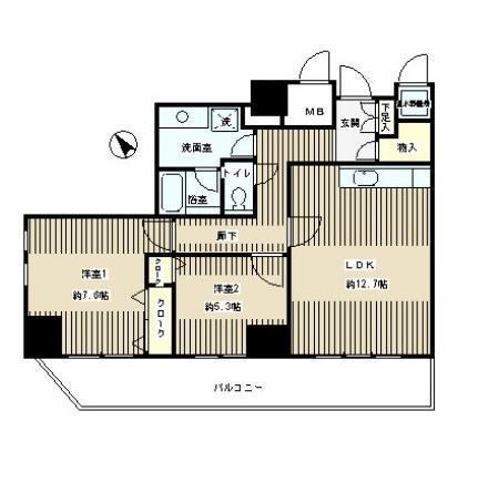 トレステージ目黒1104号室