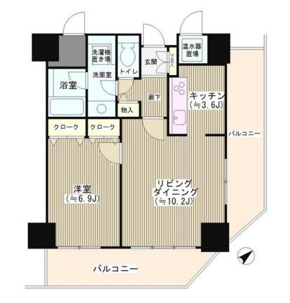 トレステージ目黒1201号室