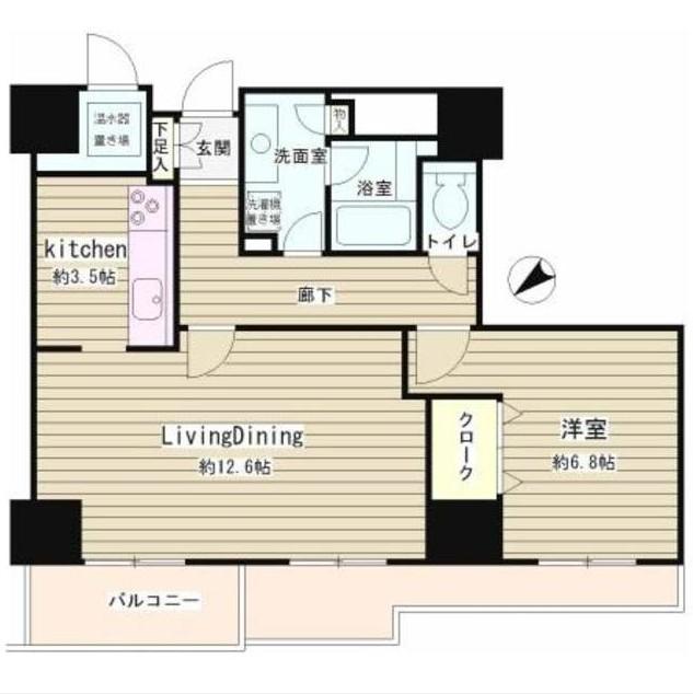 トレステージ目黒1405号室
